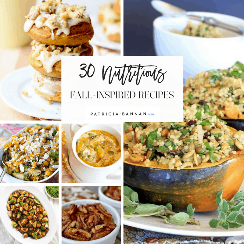 30 nutritious fall inspired recipes