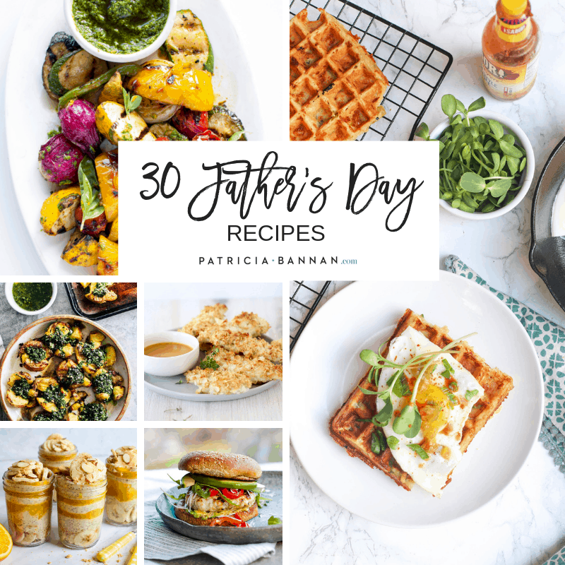 30 fathers day recipes image
