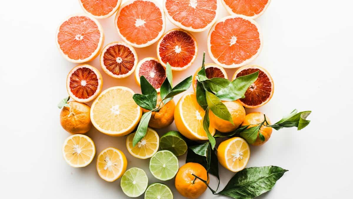 slices of citrus to use as homemade cleaners