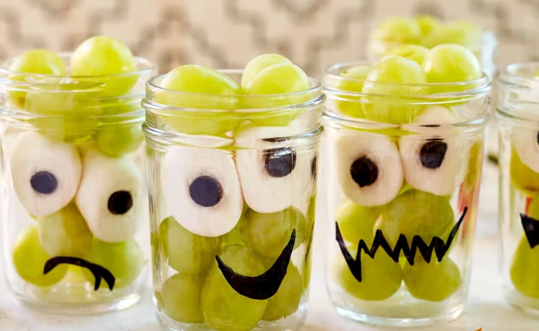 Spooky Grape Cups