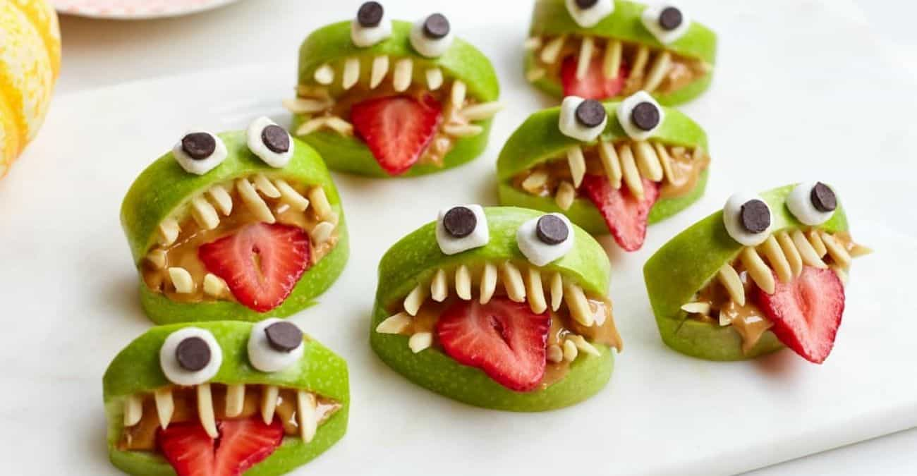 Healthy Halloween Monster Bites