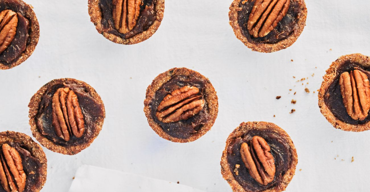 Mini Pecan Pies (plant-based)