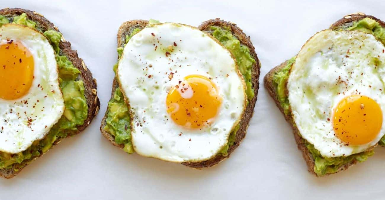 Sunny Side Up Avocado Toasts
