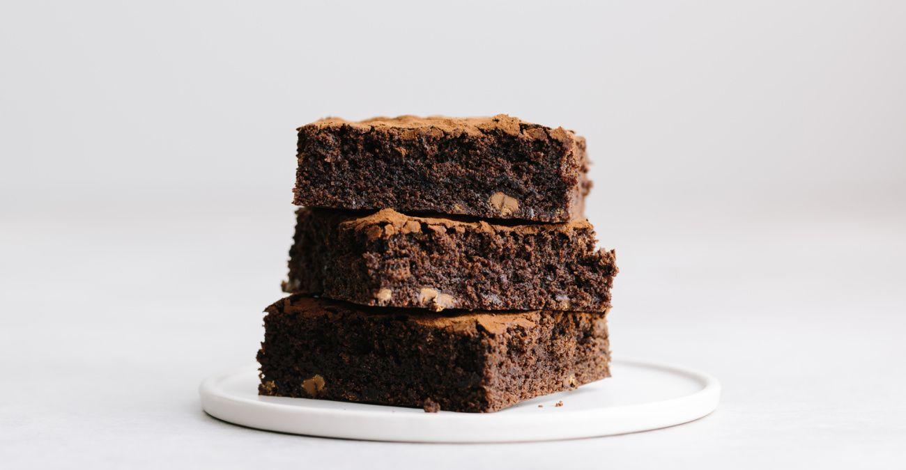 Homemade Fudgy Prune Brownies