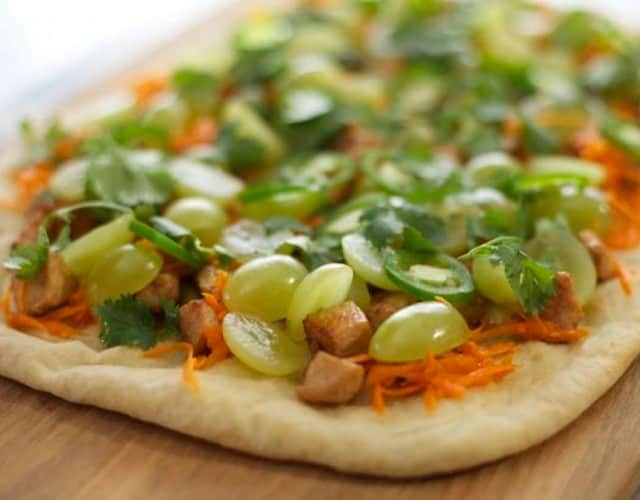 Banh Mi-Style Flatbread with California Grapes