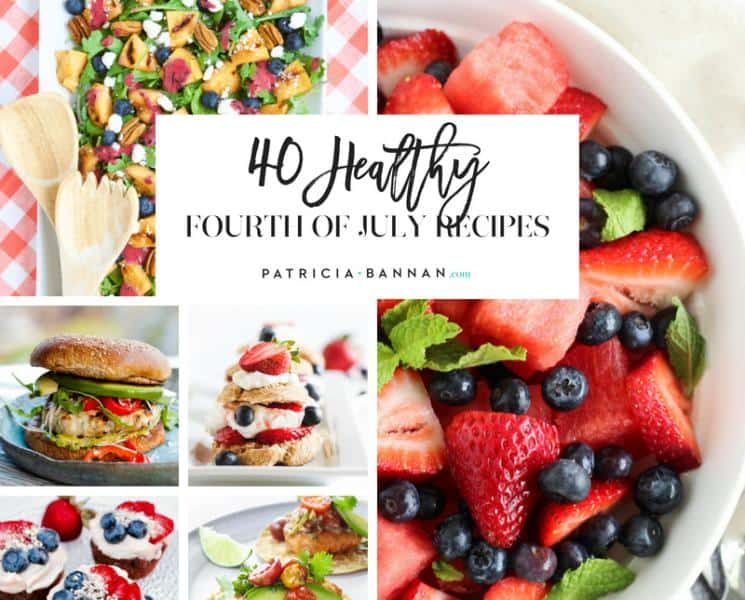 40 Healthy 4th of July Recipes