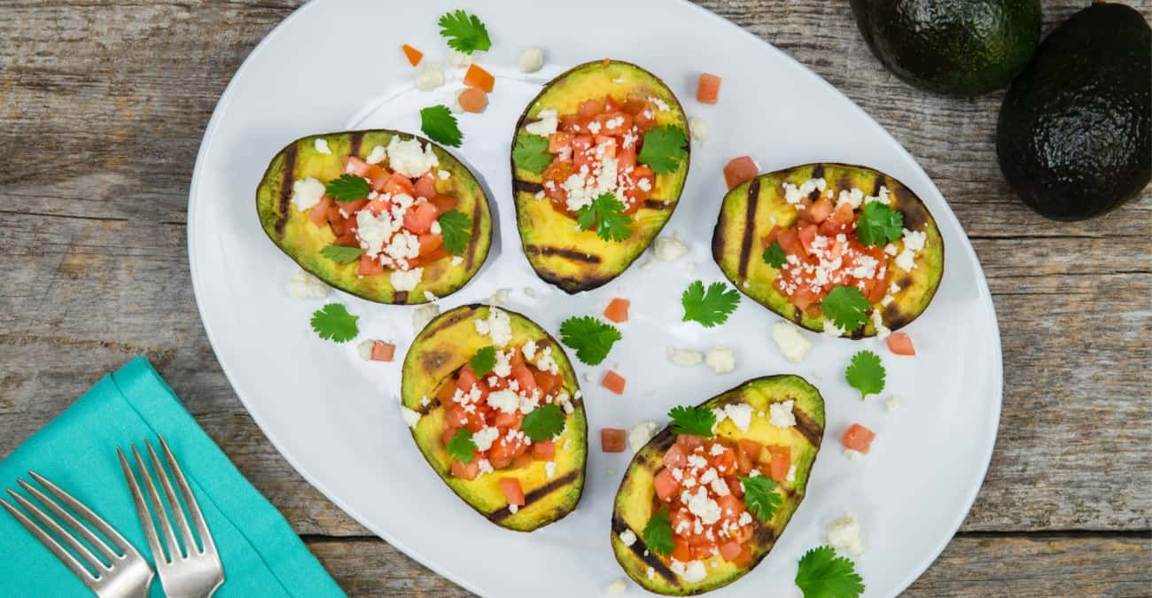 Easy Grilled Avocados