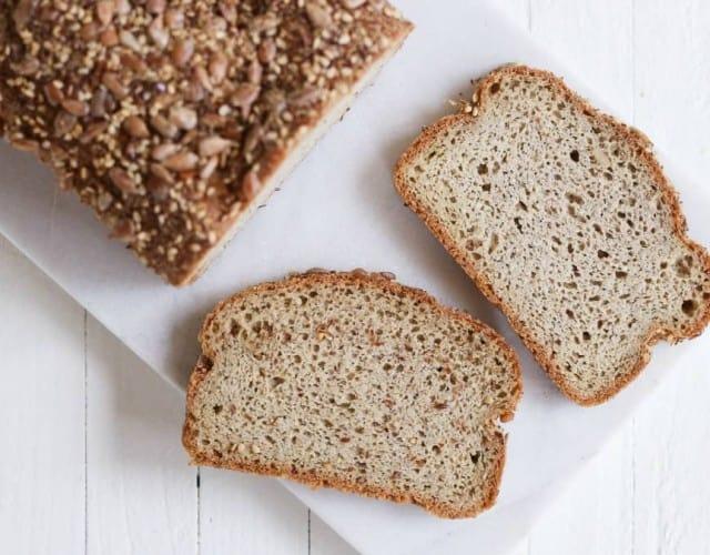 Seedy Low Carb Bread (gluten-free)
