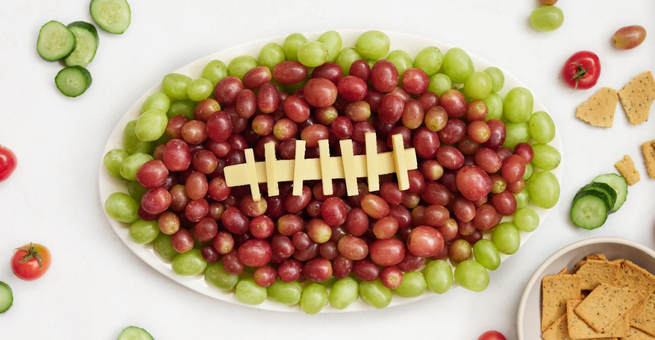 Grape & Cheese Game Day Platter