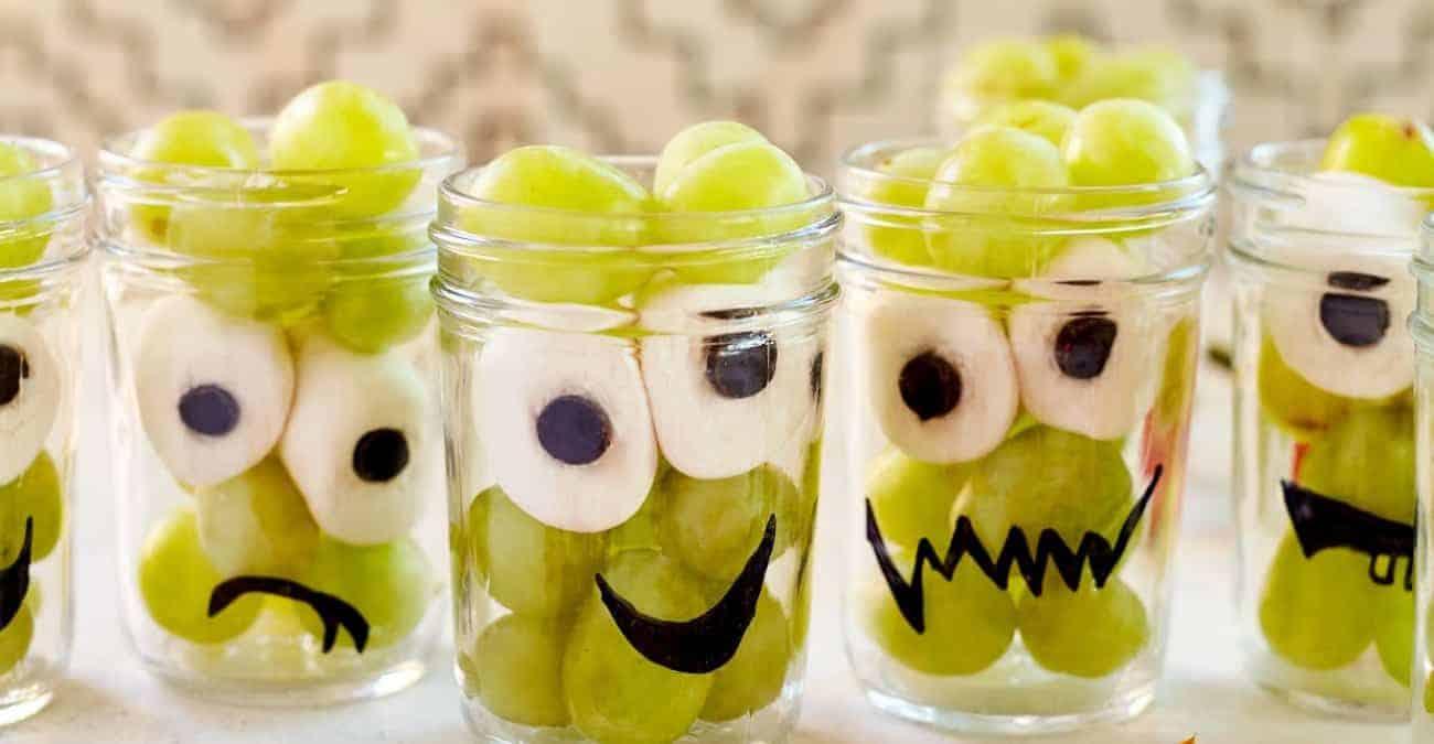 Spooky Grape Cups