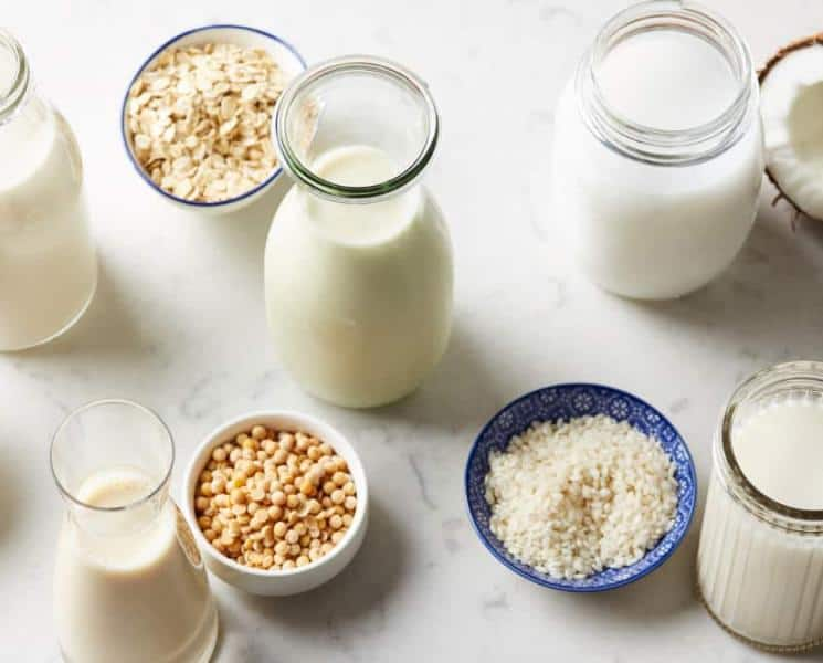 A Comparison of Milk and Milk Alternatives