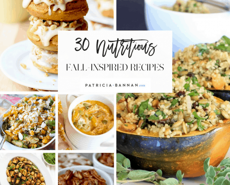30 Nutritious Fall-Inspired Recipes
