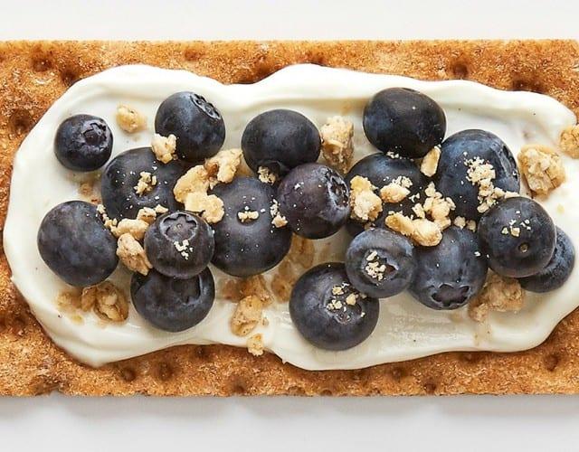 Blueberry Sourdough Crunch