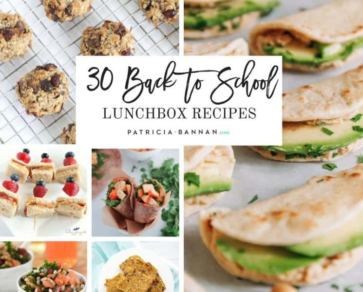 30 Healthy Back to School Lunchbox Recipes